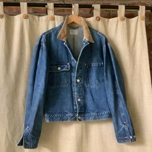 Polo Ralph Lauren vintage cowboy jean jacket  L